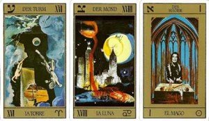 tarot dali cards